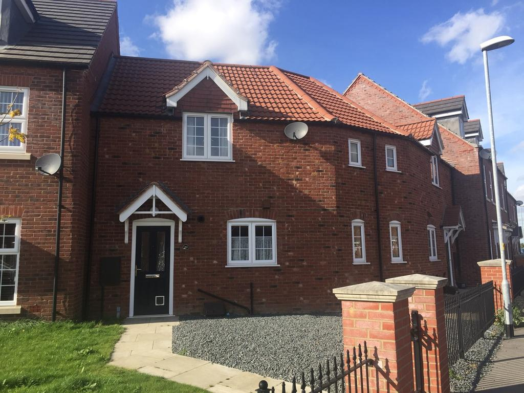2 Bedrooms Terraced House for sale in The Hayfields, Spalding, PE11