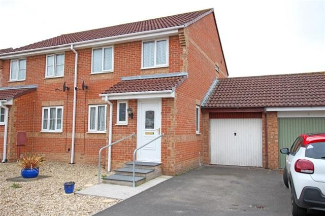 3 Bedrooms Semi Detached House for sale in Whitebeam Close, Bridgwater