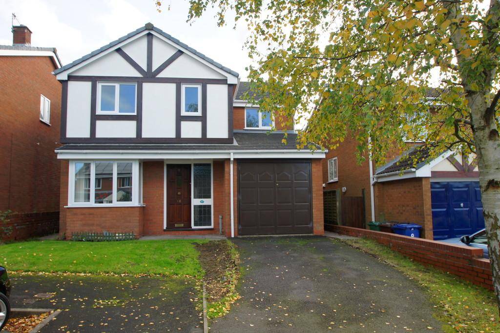4 Bedrooms Detached House for sale in Turquoise Grove, Heath Hayes, Cannock