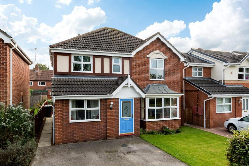 4 Bedrooms Detached House for sale in Pindars Way, Barlby, Selby