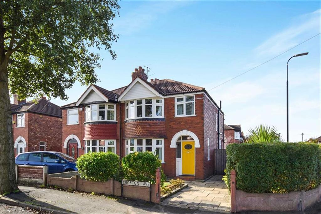 3 Bedrooms Semi Detached House for sale in Crofton Avenue, Timperley, Cheshire, WA15