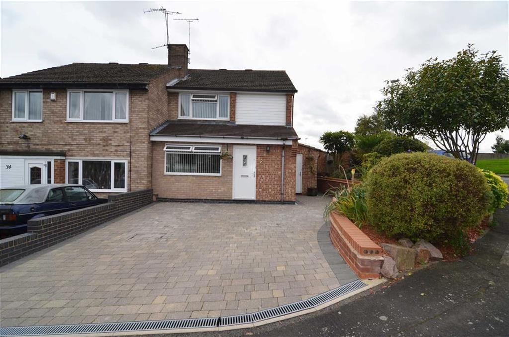 3 Bedrooms Semi Detached House for sale in Stoneleigh Way, Anstey Lane