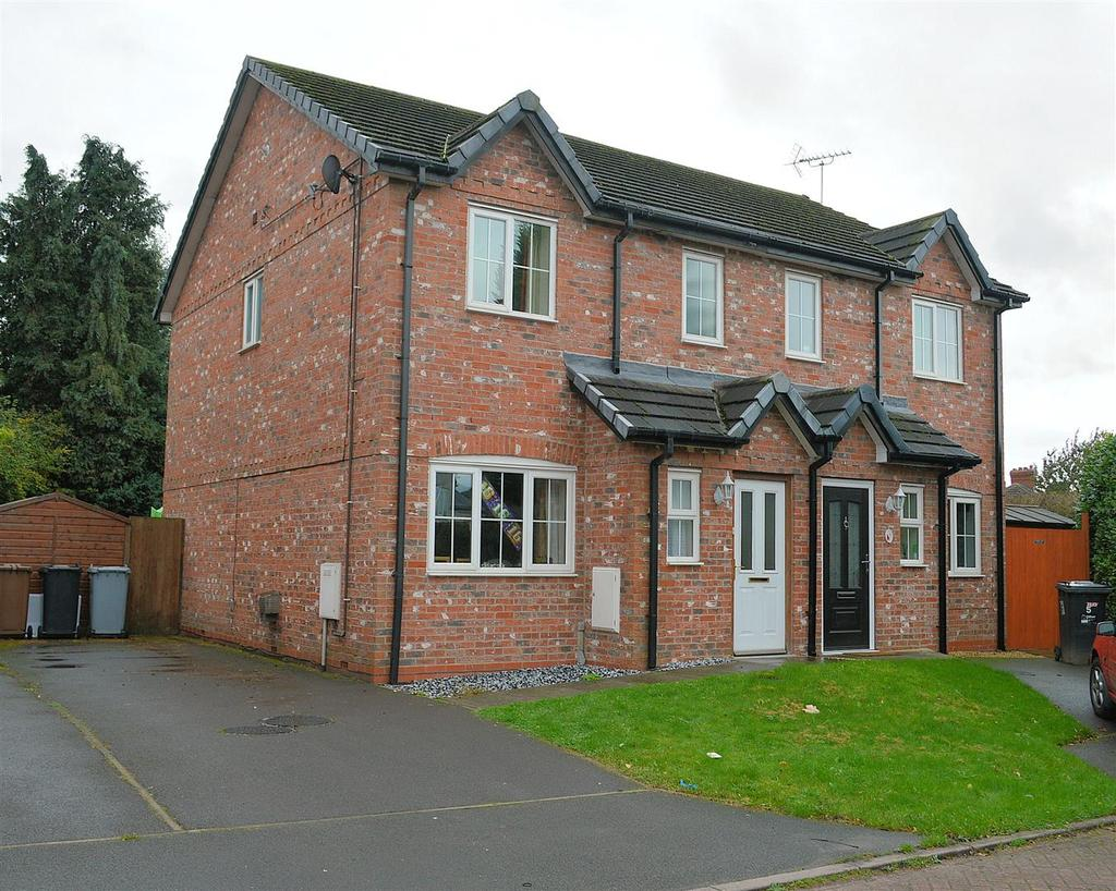 3 Bedrooms Semi Detached House for sale in The Hawthorns, Haslington