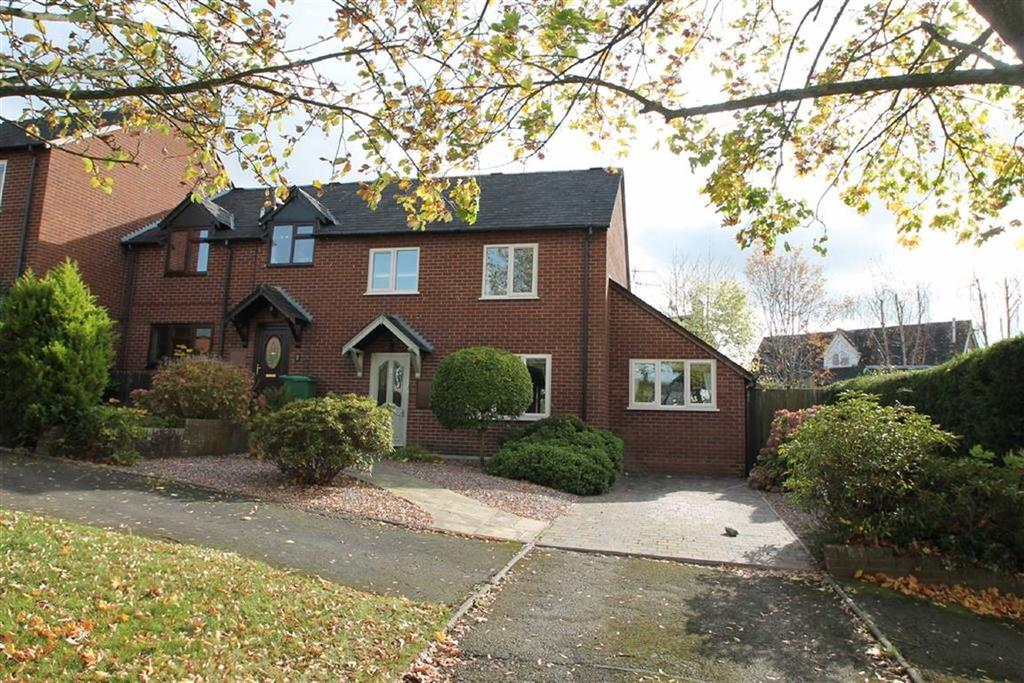3 Bedrooms Semi Detached House for sale in Charlton Rise, Ludlow