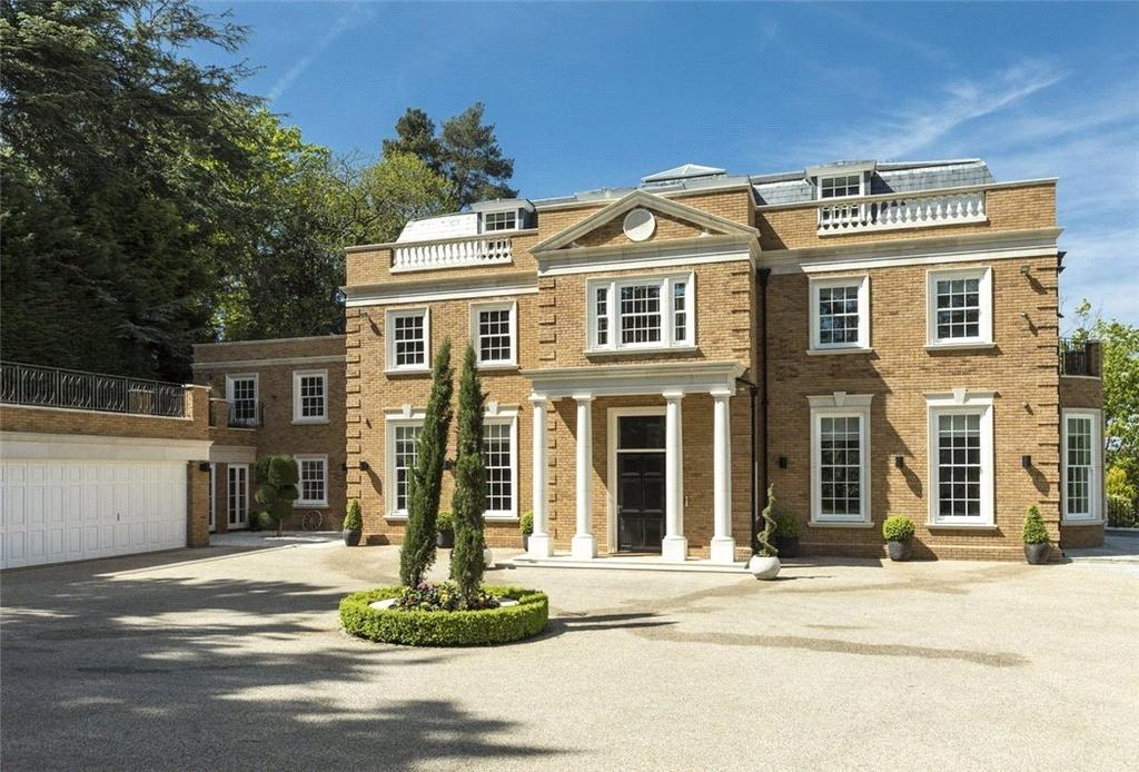 7 Bedrooms Detached House for sale in Yaffle Road, St George's Hill, Weybridge, Surrey, KT13