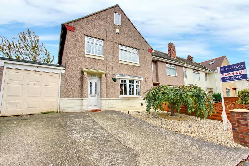 3 Bedrooms Semi Detached House for sale in Marton Crescent, Eston