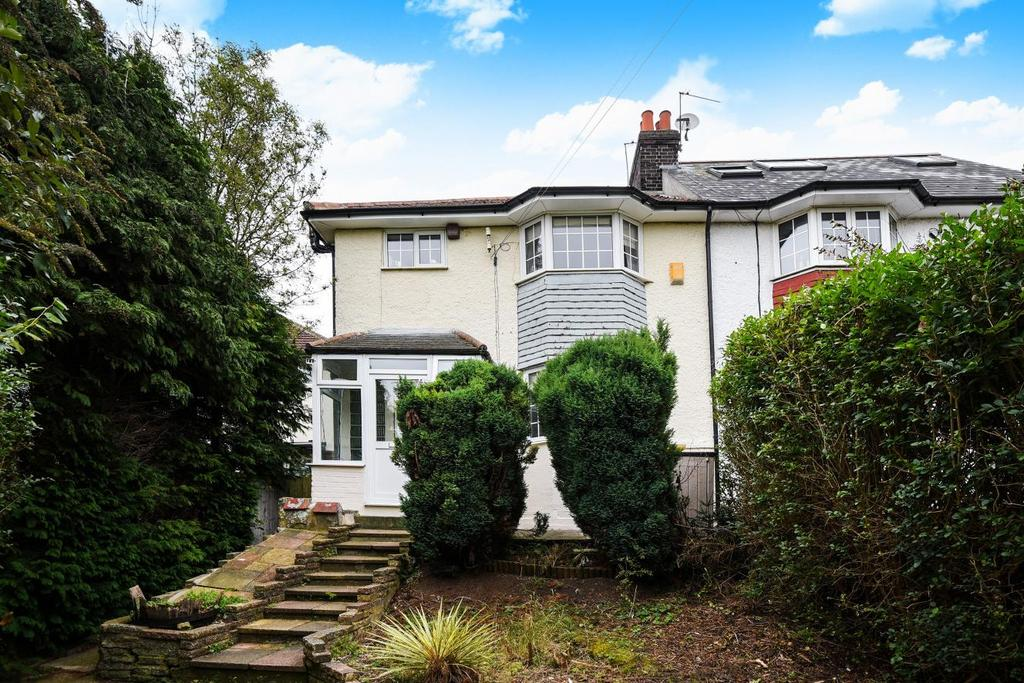 3 Bedrooms Semi Detached House for sale in Bexhill Road, Brockley