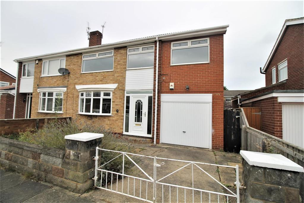 5 Bedrooms Semi Detached House for sale in Rainton Drive, Thornaby, Stockton-On-Tees