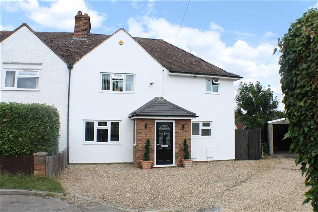 3 Bedrooms Semi Detached House for sale in Hill View, Whitwell, Hertfordshire