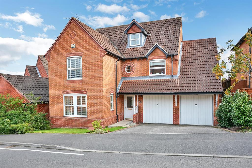 5 Bedrooms Detached House for sale in Valley View, Mansfield