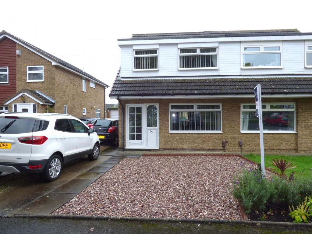 3 Bedrooms Semi Detached House for sale in Culross Grove, Stockton-On-Tees, TS19