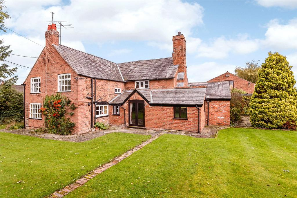 4 Bedrooms Detached House for sale in Wicker Lane, Guilden Sutton, Chester