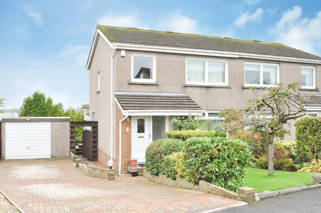 3 Bedrooms Semi Detached House for sale in Menteith Gardens, Bearsden, East Dunbartonshire, G61 4RT