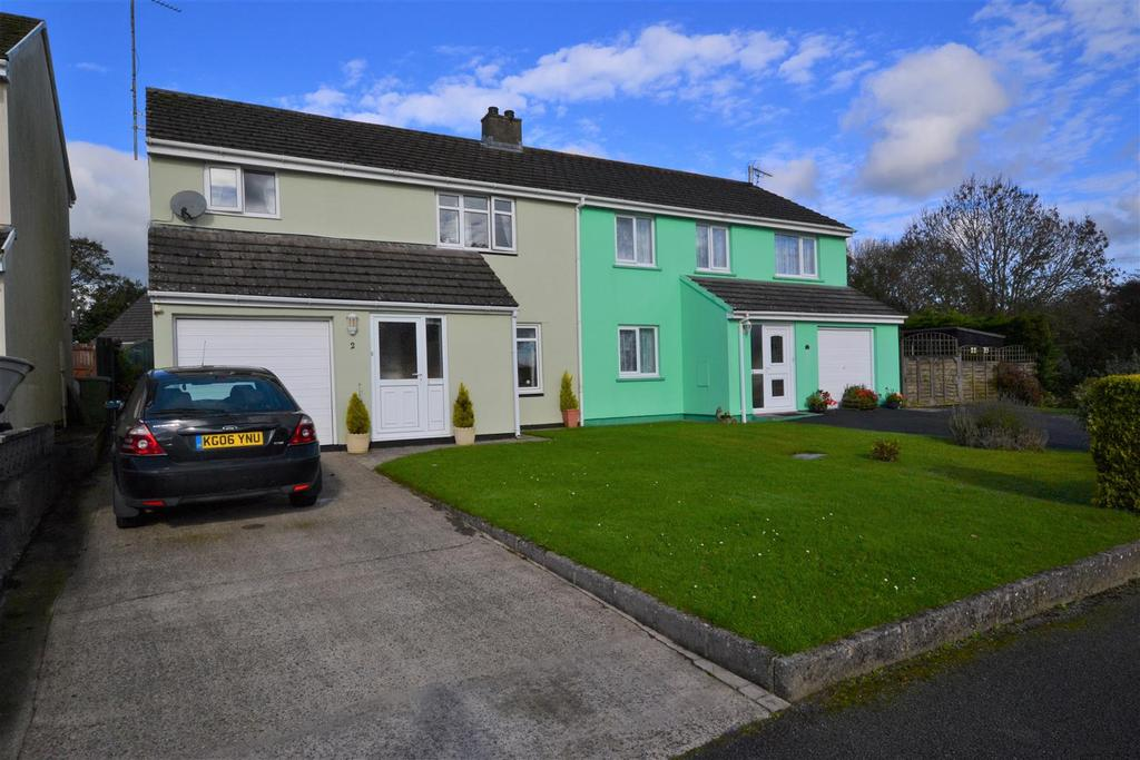 4 Bedrooms Semi Detached House for sale in Bartletts Well Road, Sageston, Tenby