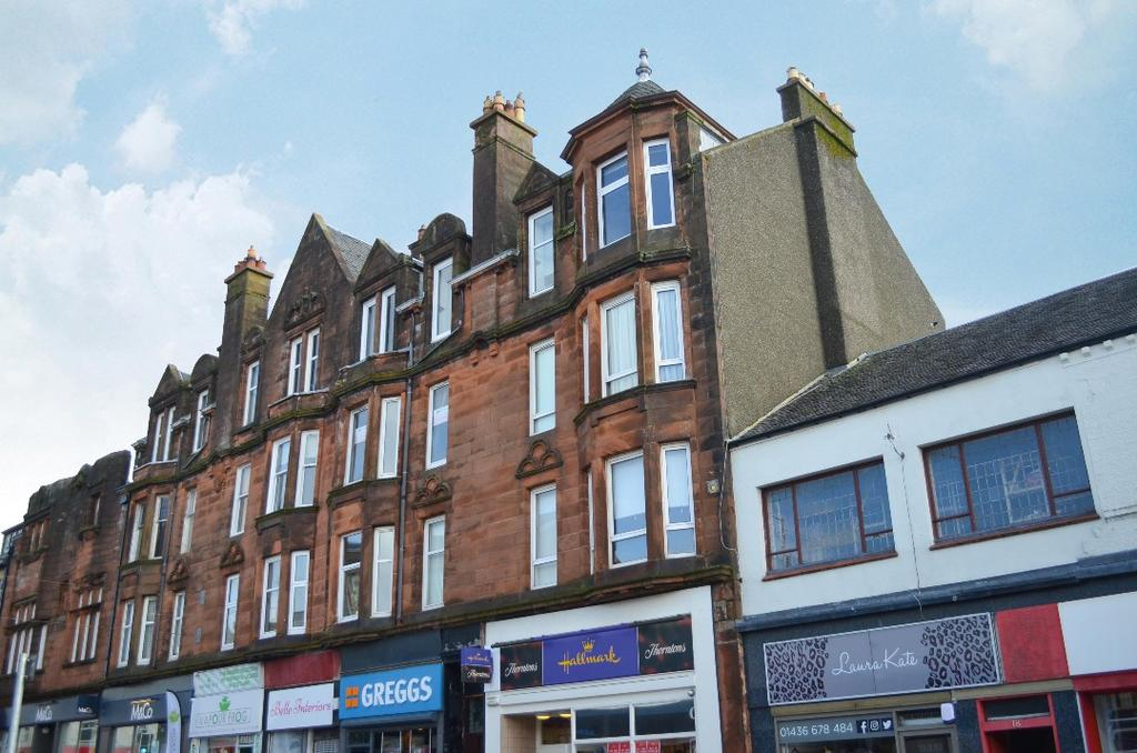 2 Bedrooms Flat for sale in Sinclair Street, Flat 2/1L, Helensburgh, Argyll Bute, G84 8SU