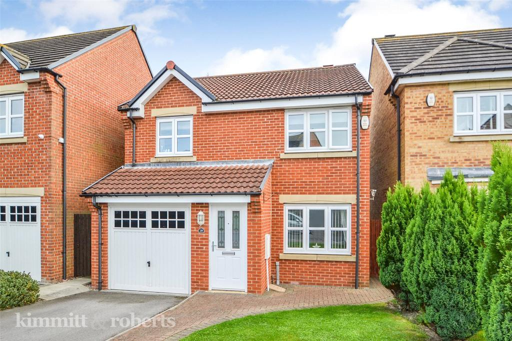 3 Bedrooms Detached House for sale in Brackenridge, Shotton, Co.Durham, DH6