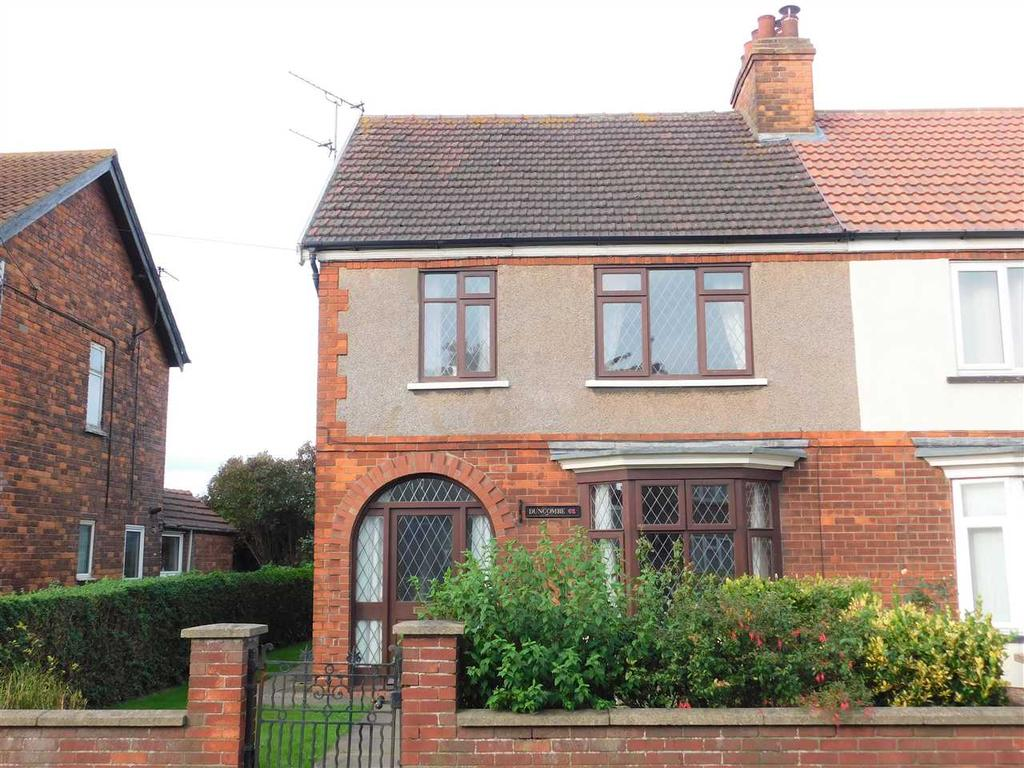 3 Bedrooms Semi Detached House for sale in STATION ROAD, GUNNESS, SCUNTHORPE