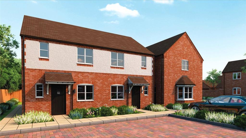2 Bedrooms Semi Detached House for sale in Main Street, Tiddington, Stratford Upon Avon, CV37