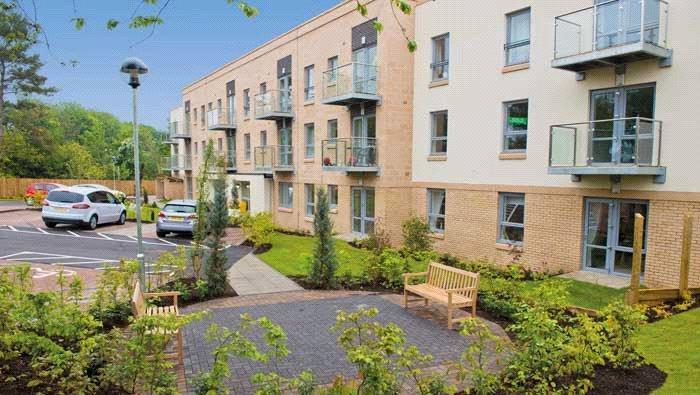 2 Bedrooms Flat for sale in Campsie Grove, 27 Kirkintilloch Road, Bishopbriggs, Glasgow, G64