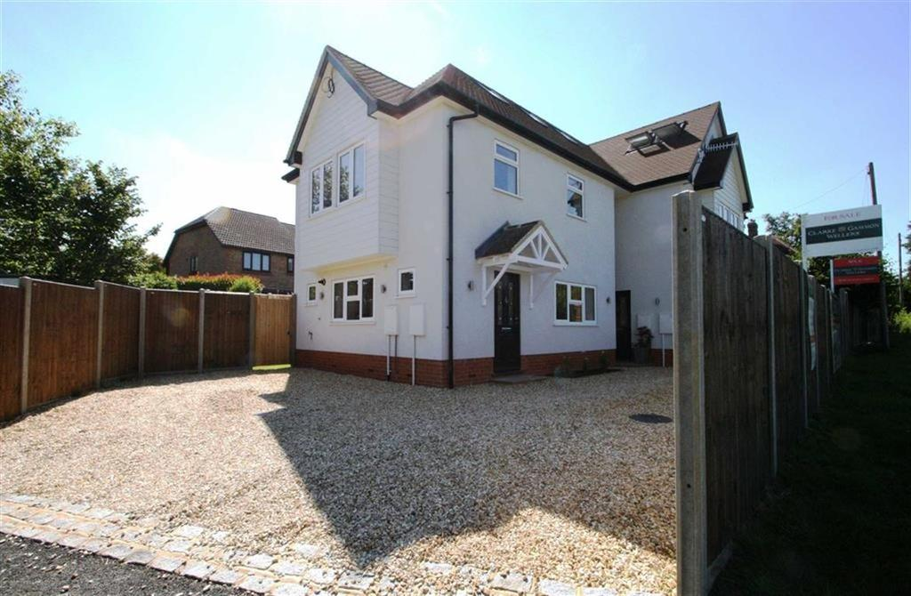 3 Bedrooms Semi Detached House for sale in Cherry Tree Road, Milford, Surrey, GU8