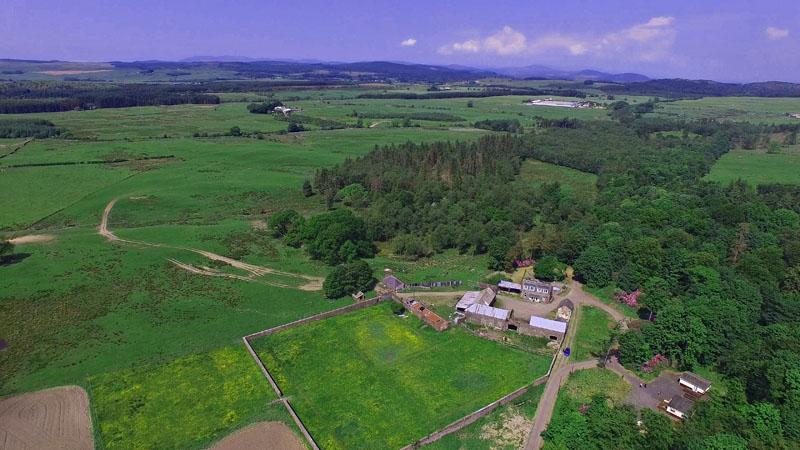 6 Bedrooms Farm Land Commercial for sale in Balmaghie Deer Park, Gardeners Cottage Foresters Cottage, Balmaghie Estate, Castle Douglas, Dumfries ...