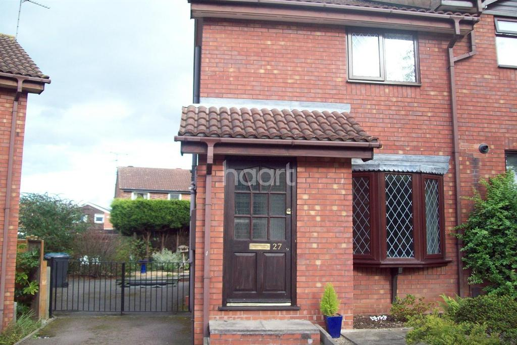 2 Bedrooms Semi Detached House for sale in Ringwood Road, Bingham, Nottinghamshire