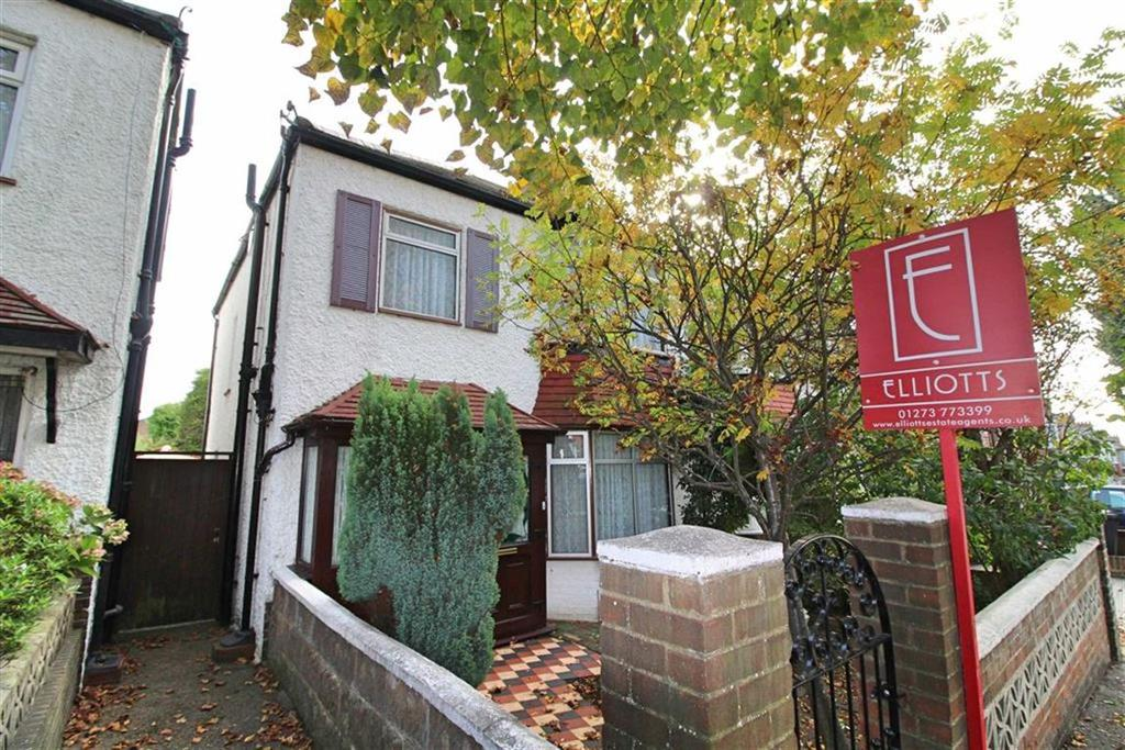 3 Bedrooms Semi Detached House for sale in Aldrington Avenue, Hove, East Sussex