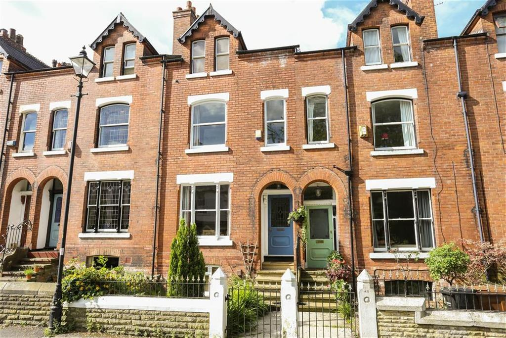 4 Bedrooms Terraced House for sale in Shaw Road, Heaton Moor