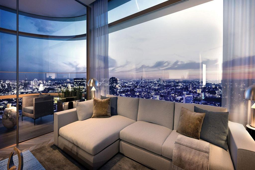 2 Bedrooms Flat for sale in Principal Tower, EC2A