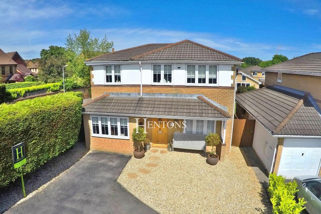 4 Bedrooms Detached House for sale in Hugon Close, Penylan, Cardiff
