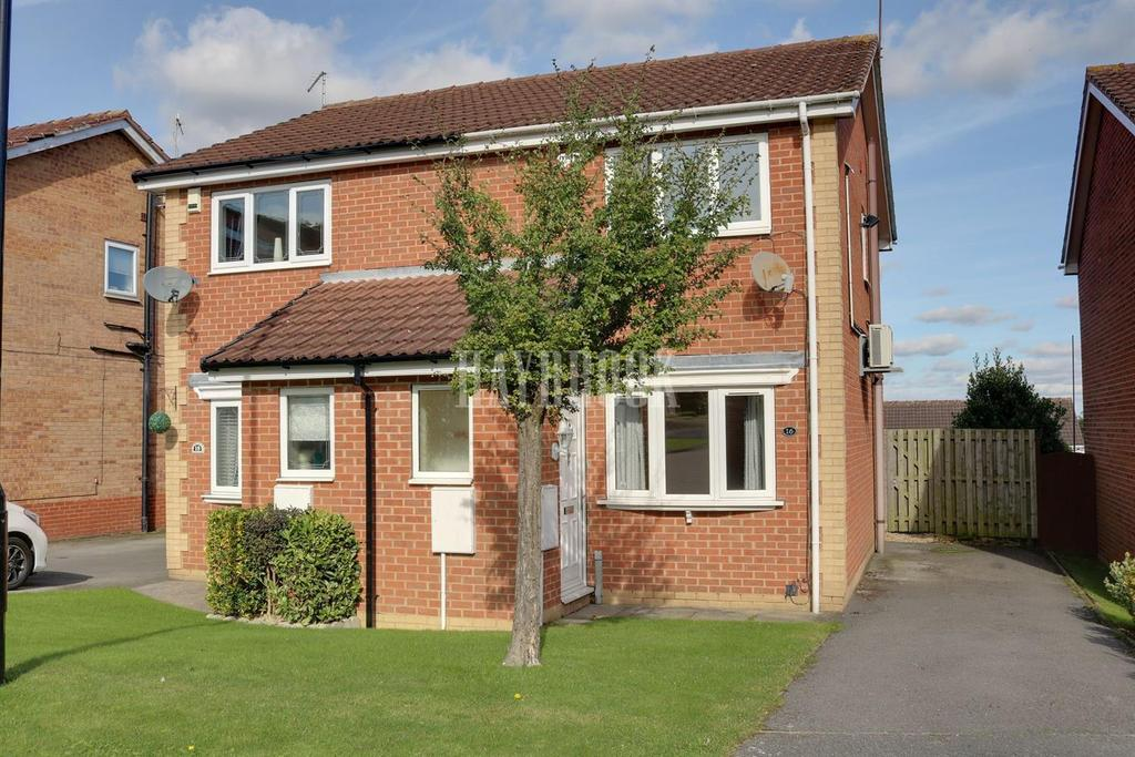 2 Bedrooms Semi Detached House for sale in Malham gardens, Halfway