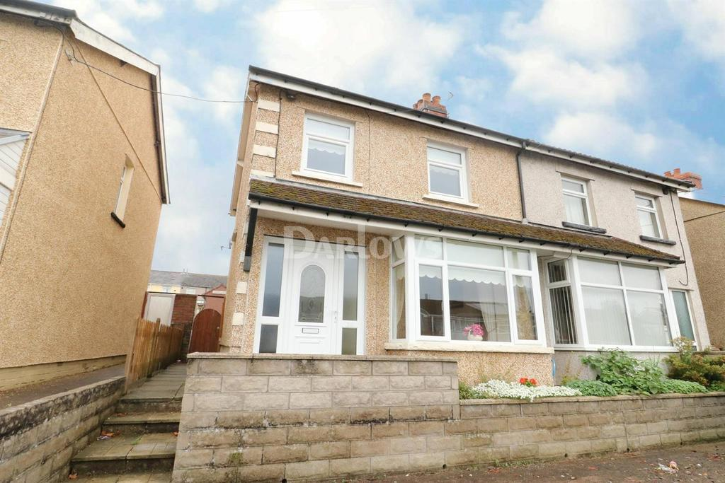 2 Bedrooms Semi Detached House for sale in Hengoed Avenue, Cefn Hengoed