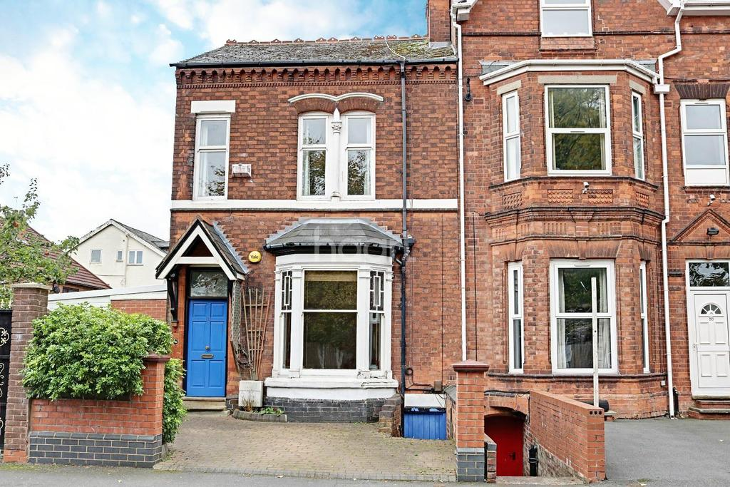 3 Bedrooms End Of Terrace House for sale in Stanmore Road, Edgbaston