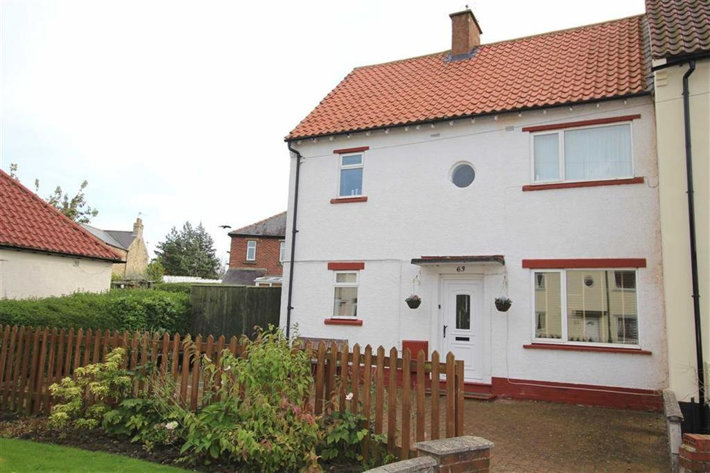 3 Bedrooms End Of Terrace House for sale in Marwood Drive, Barnard Castle, County Durham