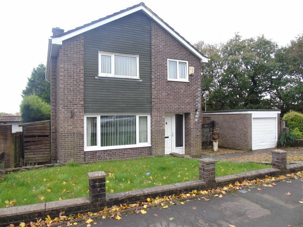 4 Bedrooms Detached House for sale in Rhodfa Eos, Parc Gwernfadog, Swansea