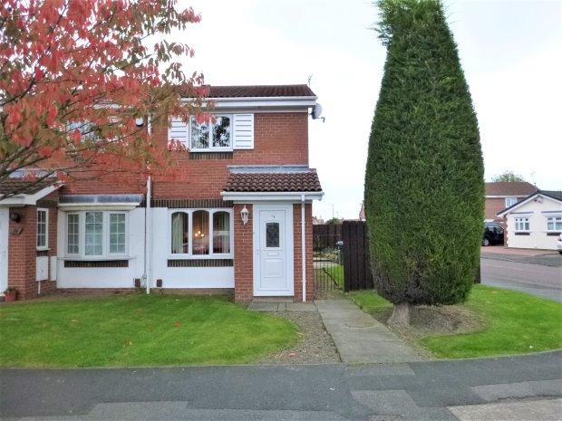 2 Bedrooms Semi Detached House for sale in TOLLERTON DRIVE, CASTLETOWN, SUNDERLAND NORTH