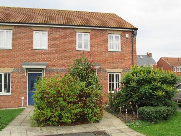3 Bedrooms Semi Detached House for sale in POOLE GARDENS, HART LANE, HARTLEPOOL