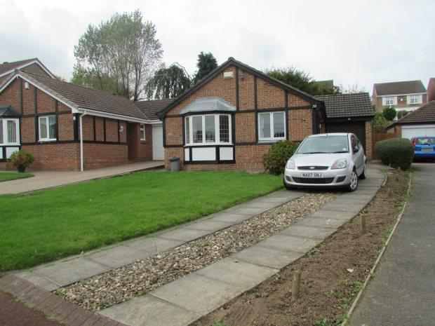 3 Bedrooms Detached Bungalow for sale in BRIMSTON CLOSE, NAISBERRY PARK, HARTLEPOOL