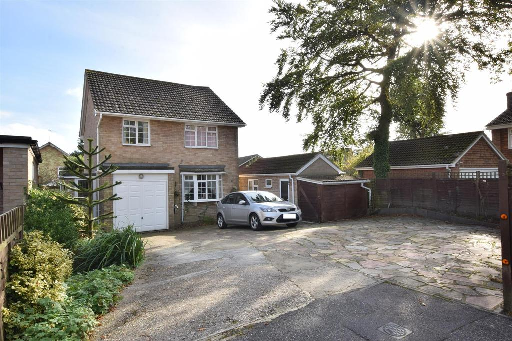 4 Bedrooms Detached House for sale in Chailey Close, Hastings