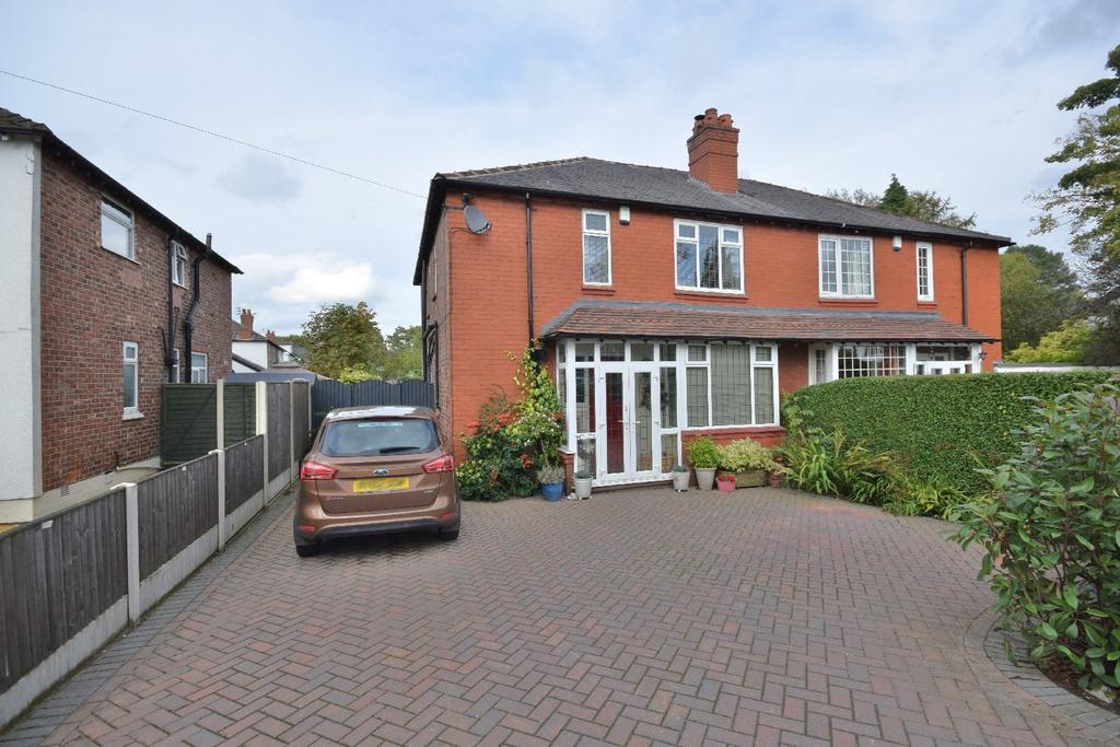 3 Bedrooms Semi Detached House for sale in Chester Road, Poynton
