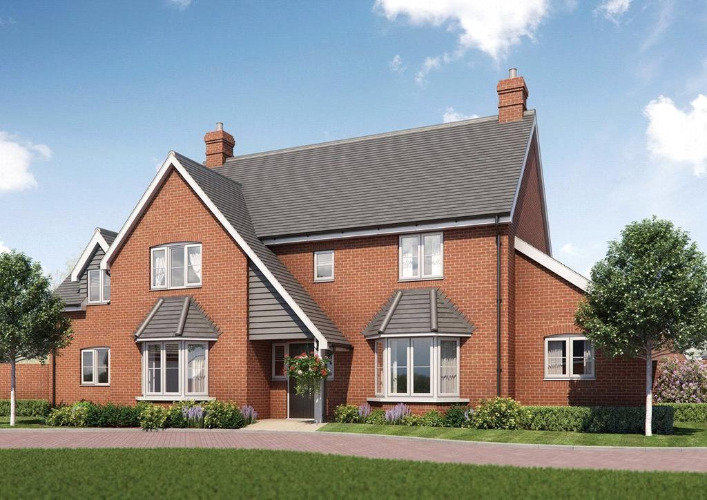 5 Bedrooms Detached House for sale in Plot 11, Latton Place, Kingston Bagpuize, Abingdon Road, Oxfordshire, OX13