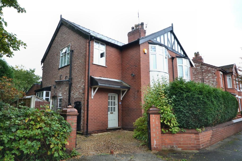 3 Bedrooms Semi Detached House for sale in Alexandra Drive, Burnage