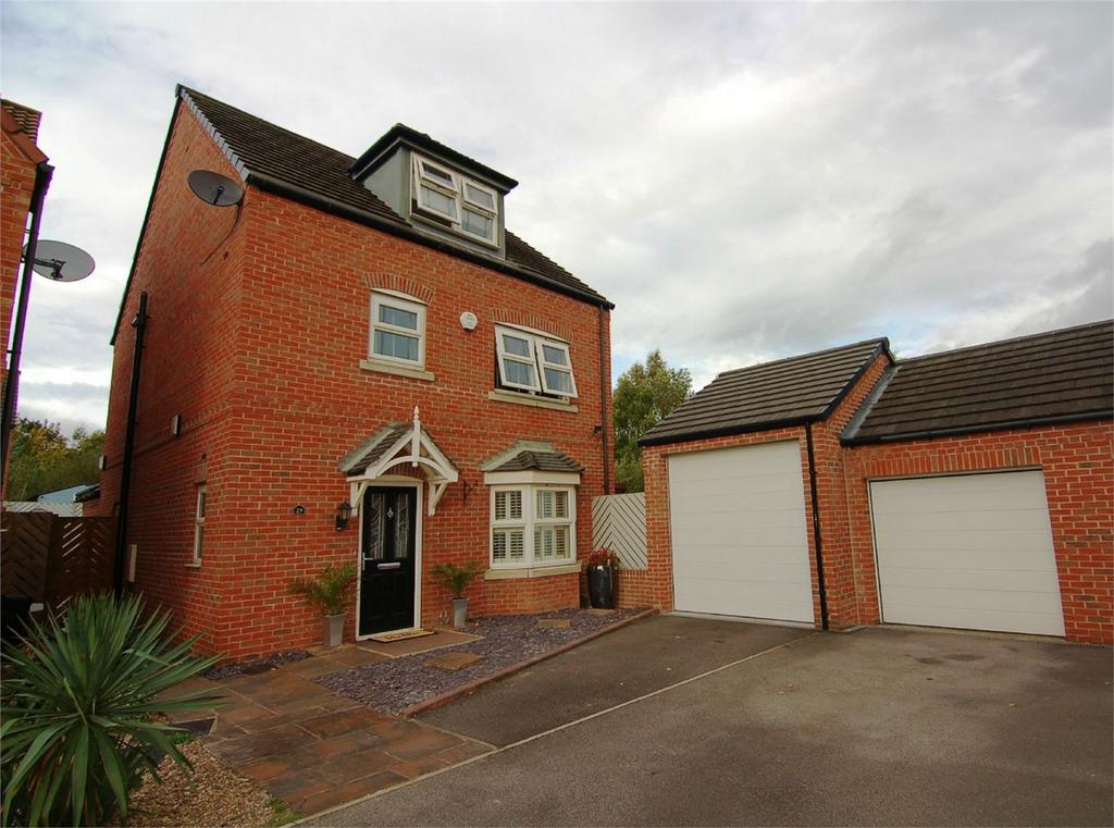 4 Bedrooms Detached House for sale in Dovecote, Wombwell, BARNSLEY, South Yorkshire