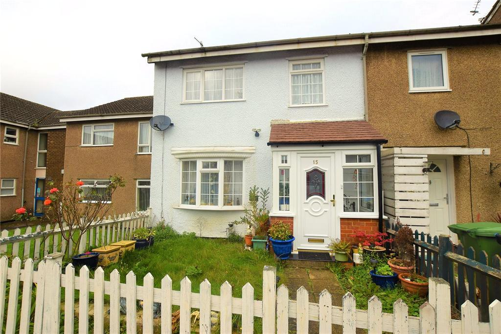 3 Bedrooms End Of Terrace House for sale in Stronsay Close, Hemel Hempstead, Hertfordshire, HP3