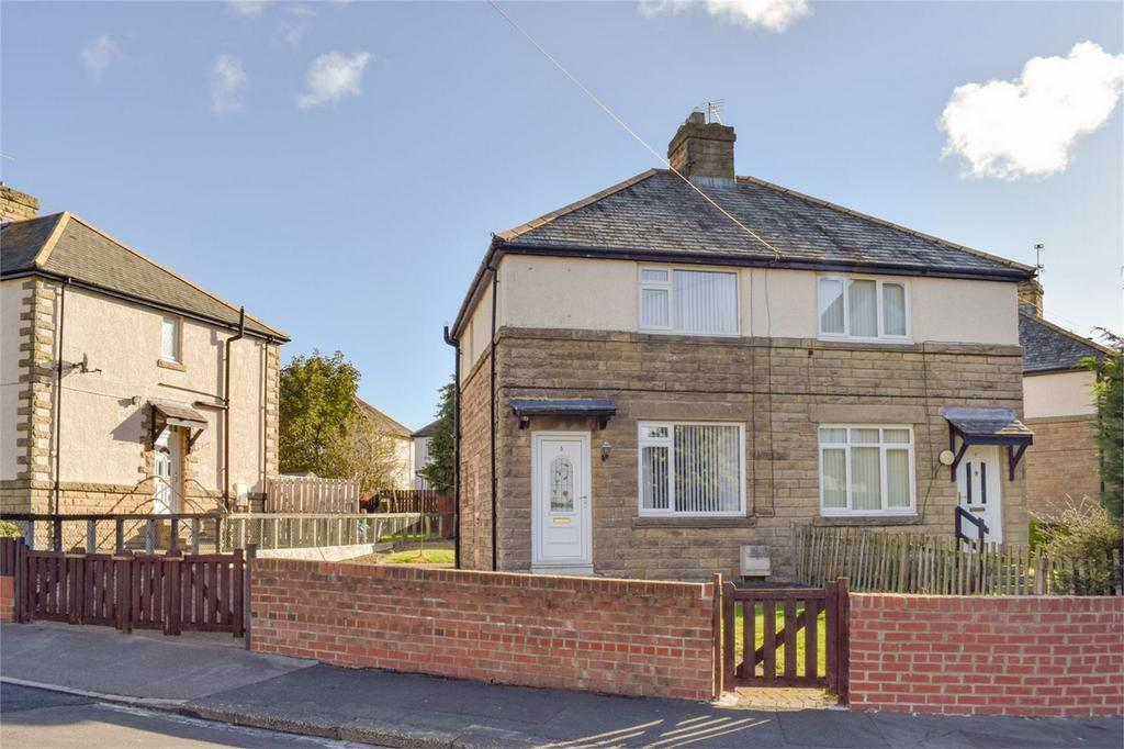 2 Bedrooms Semi Detached House for sale in 5 Crook Lane, Barnard Castle, Couty Durham
