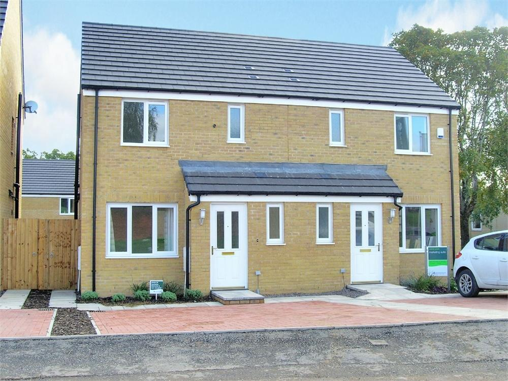 3 Bedrooms Semi Detached House for sale in Eastside Quarter, Maelfa,, Llanedeyrn, Cardiff