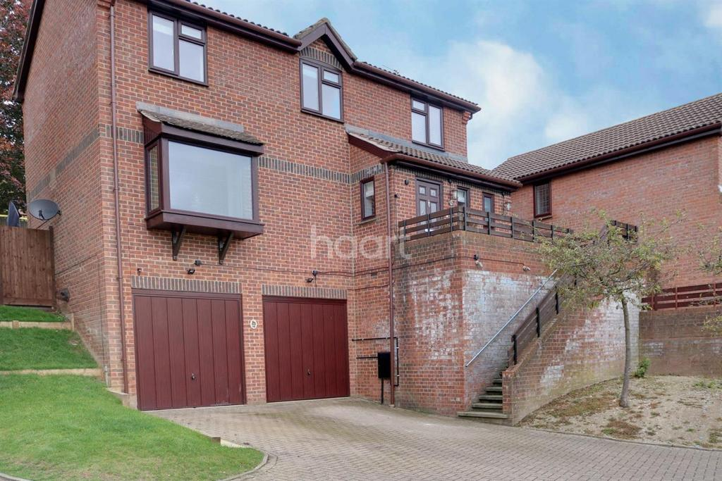 4 Bedrooms Detached House for sale in Glamis Close, Walderslade