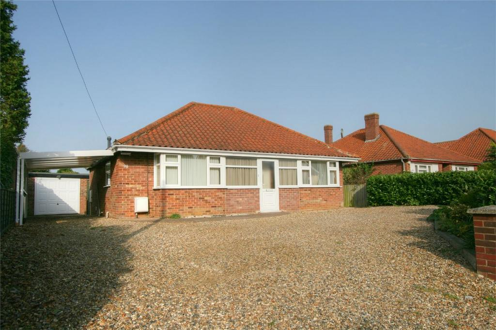 2 Bedrooms Detached Bungalow for sale in Hargham Road NR17 2HG, ATTLEBOROUGH, Norfolk