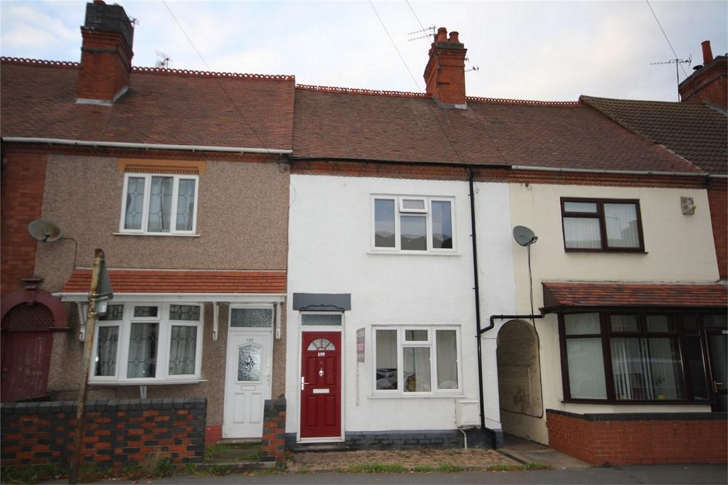 2 Bedrooms Terraced House for sale in Arbury Road, Nuneaton, Warwickshire