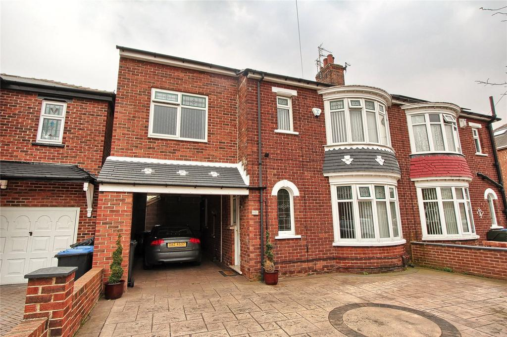 4 Bedrooms Semi Detached House for sale in Lexden Avenue, Acklam